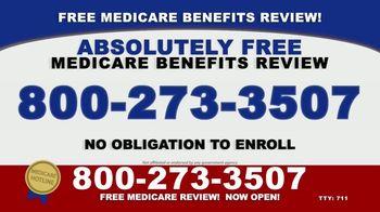 The Medicare Hotline TV Spot, 'Free Medicare Benefits Review'