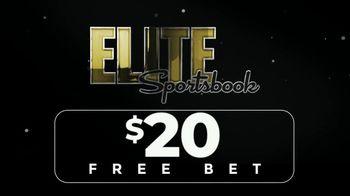 ELITE Sportsbook TV Spot, '$20 Free Bets' - Thumbnail 1