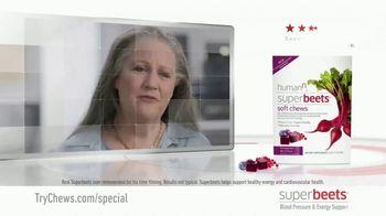 SuperBeets Soft Chews TV Spot, 'Healthy Circulation' - Thumbnail 1