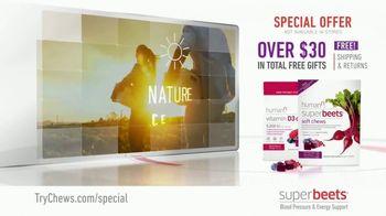 SuperBeets Soft Chews TV Spot, 'Healthy Circulation' - Thumbnail 10