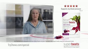 SuperBeets Soft Chews TV Spot, 'Healthy Circulation' - Thumbnail 2