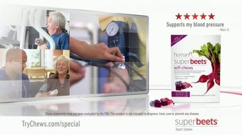 SuperBeets Soft Chews TV Spot, 'Healthy Circulation' - Thumbnail 4