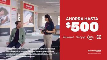 Mattress Firm Venta Semi Anual TV Spot, 'Ahorra hasta $500 dólares' [Spanish] - Thumbnail 4