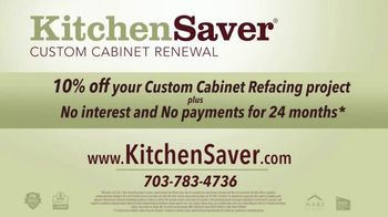 Kitchen Saver Custom Cabinet Renewal TV Spot, 'Price and Efficiency' - Thumbnail 9