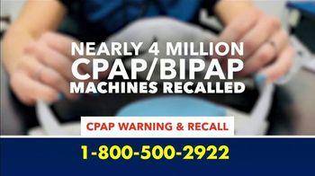 Negligence Network TV Spot, 'CPAP Recall'
