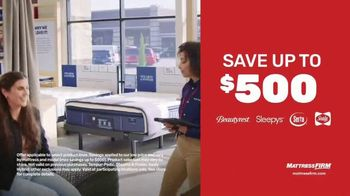 Mattress Firm Semi-Annual Sale TV Spot, 'Save Up to $500' - Thumbnail 2