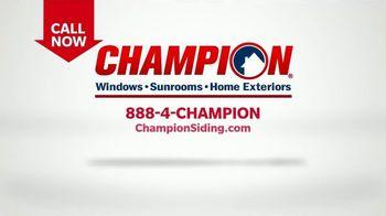 Champion Windows TV Spot, 'Fall in Love: 30% off Siding' - Thumbnail 7