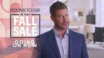 Rooms to Go 12 Day Fall Sale TV Spot, '60 Months Interest Free Financing' Ft. Jesse Palmer