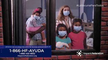 Hispanic Federation TV Spot, 'Vacunate contra el COVID-19' [Spanish]