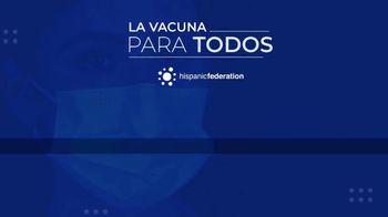 Hispanic Federation TV Spot, 'Vacunate contra el COVID-19' [Spanish] - Thumbnail 9