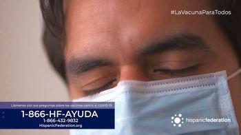 Hispanic Federation TV Spot, 'Vacunate contra el COVID-19' [Spanish] - Thumbnail 2