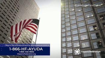 Hispanic Federation TV Spot, 'Vacunate contra el COVID-19' [Spanish] - Thumbnail 4