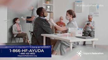 Hispanic Federation TV Spot, 'Vacunate contra el COVID-19' [Spanish] - Thumbnail 6