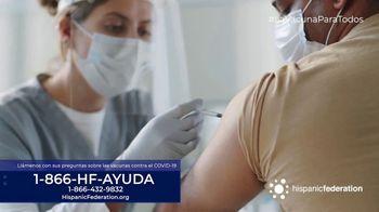 Hispanic Federation TV Spot, 'Vacunate contra el COVID-19' [Spanish] - Thumbnail 7