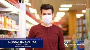 Hispanic Federation TV Spot, 'Vacunate contra el COVID-19' [Spanish] - Thumbnail 8