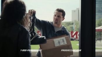 Progressive TV Spot, 'Baker Mayfield Has a Package Mix-Up' Featuring Alice Cooper
