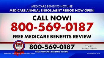 Medicare Benefits Hotline TV Spot, 'Attention: Medicare Advantage & Prescription Drug Plan'