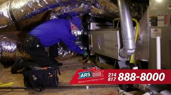 ARS Rescue Rooter TV Spot, 'Free heating Service Call With Repair'