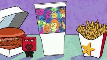 Carl's Jr. [adult swim] MEAL TV Spot, 'Adult Swim-Themed Cup'