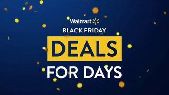 Walmart Black Friday Deals for Days TV Spot, 'Deals Just Dropped'
