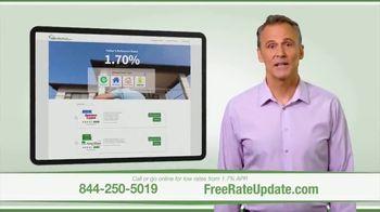 FreeRateUpdate.com TV Spot, 'Shop for a Mortgage Online: 1.7% APR'