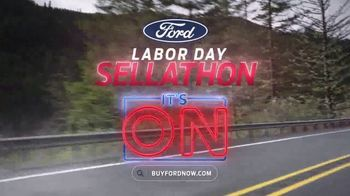 Ford Labor Day Sellathon TV Spot, 'It's On' [T2] - Thumbnail 9