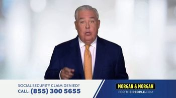 Morgan & Morgan Law Firm TV Spot, 'Social Security Claim Denied?'