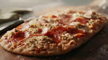 Panera Bread Sausage & Pepperoni Flatbread Pizza TV Spot, 'Live Your Yes'