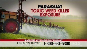 Fears Nachawati TV Spot, 'Parkinson's: Exposure to Paraquat'