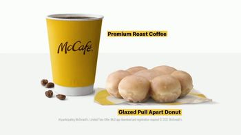 McDonald's McCafe Bakery Sweets TV Spot, 'Whatever You Want Them to Be: Pull Apart Donuts & Coffee' - Thumbnail 9