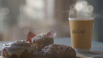 McDonald's McCafe Bakery Sweets TV Spot, 'Whatever You Want Them to Be: Pull Apart Donuts & Coffee' - Thumbnail 4