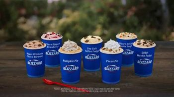 Dairy Queen Fall Blizzards TV Spot, 'Jump In'