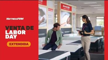 Mattress Firm Venta de Labor Day TV Spot, 'Extendida' [Spanish] - Thumbnail 2