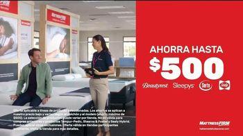 Mattress Firm Venta de Labor Day TV Spot, 'Extendida' [Spanish] - Thumbnail 3