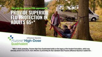 Fluzone High-Dose Quadrivalent TV Spot, 'Not Letting My Guard Down' - Thumbnail 3