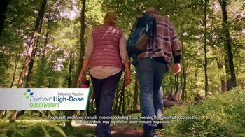 Fluzone High-Dose Quadrivalent TV Spot, 'Not Letting My Guard Down' - Thumbnail 7