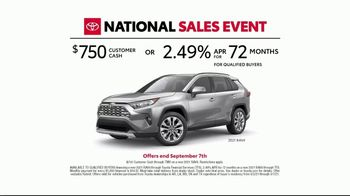 Toyota National Sales Event TV Spot, 'Open New Doors' Song by Max Manie [T2] - Thumbnail 6
