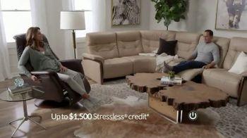 Ekornes Stressless TV Spot, 'Up to $1500 Stressless Credit'