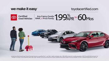 Toyota Certified Used Vehicles TV Spot, 'Check This Out' [T2]