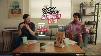 Taco Bell Crispy Chicken Sandwich Taco TV Spot, 'Decide: Which Is It?'