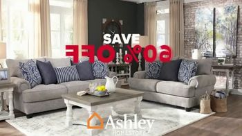 Ashley HomeStore Labor Day Sale TV Spot, 'Extended: 60% Off and Free Delivery' - Thumbnail 3