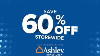 Ashley HomeStore Labor Day Sale TV Spot, 'Extended: 60% Off and Free Delivery' - Thumbnail 7