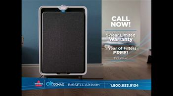 Bissell Air320 Max Air Purifier TV Spot, 'Floating in the Air: 1 Year of Filters Free' - Thumbnail 9