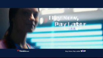 Fanatics.com TV Spot, 'Buy Now, Pay Later' - Thumbnail 7