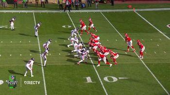 DIRECTV NFL Sunday Ticket TV Spot, 'Front Row: Greasy' Featuring Patrick Mahomes - Thumbnail 1