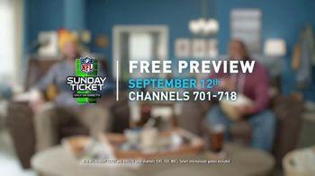 DIRECTV NFL Sunday Ticket TV Spot, 'Front Row: Greasy' Featuring Patrick Mahomes - Thumbnail 10