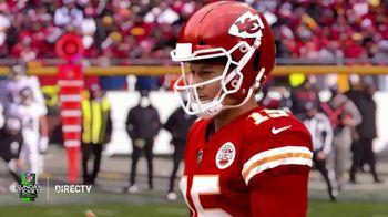 DIRECTV NFL Sunday Ticket TV Spot, 'Front Row: Greasy' Featuring Patrick Mahomes - Thumbnail 5
