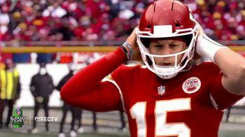DIRECTV NFL Sunday Ticket TV Spot, 'Front Row: Greasy' Featuring Patrick Mahomes - Thumbnail 7