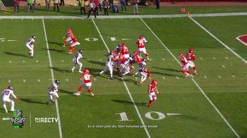 DIRECTV NFL Sunday Ticket TV Spot, 'Front Row: Greasy' Featuring Patrick Mahomes - Thumbnail 8