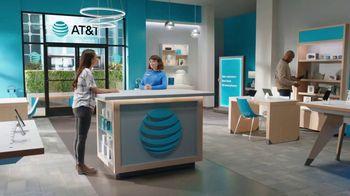 AT&T Wireless TV Spot, 'Lily Rotating Sign + Samsung Galaxy Z Fold3 5G' - Thumbnail 1